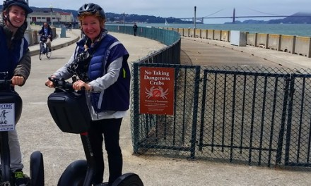 Riding a Segway – See San Francisco with the Electric Tour Company