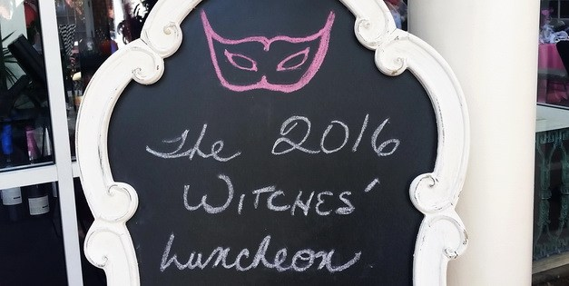 Witchy, Parisian fun at a ghostly Halloween party