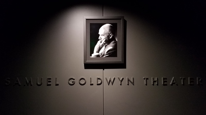 Samuel Goldwyn Theater entrance