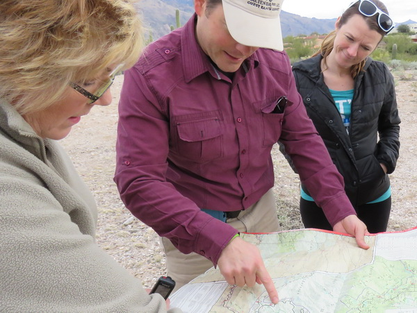 Hiking with a naturalist in the wilds near luxury resort Hacienda del Sol
