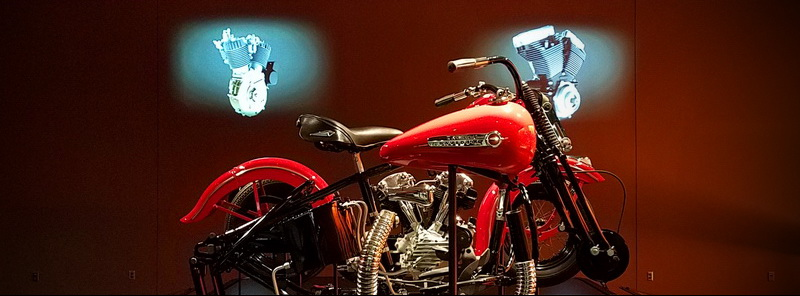 I wanted to be a biker – Milwaukee's Harley Davidson Museum