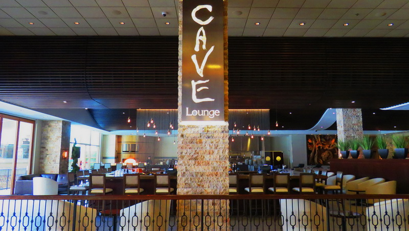 The Cave restaurant in the Pala lobby