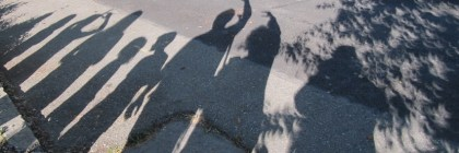 The eclipse watchers street shadow