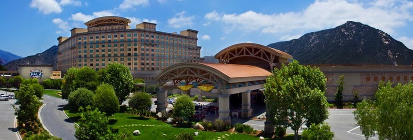 Pala Casino is the nearest resort between San Diego and Los Angeles