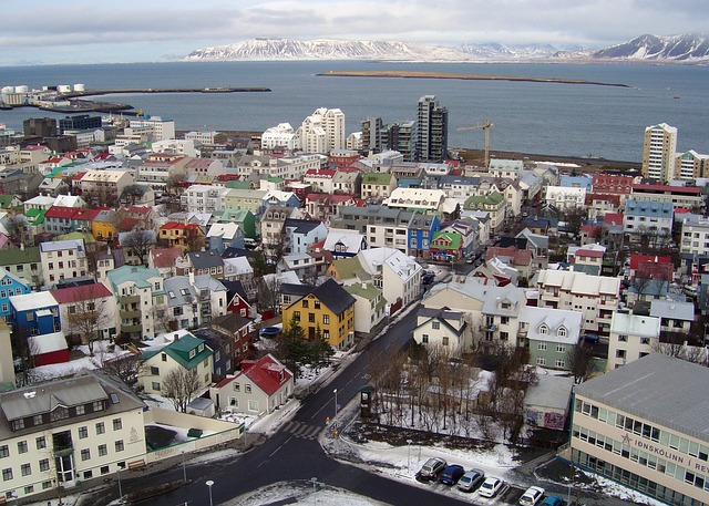 Reykjavik, Iceland, is a great destination to escape summer heat