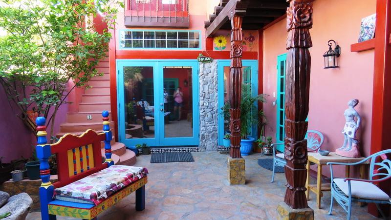 Dreamweaver lower courtyard