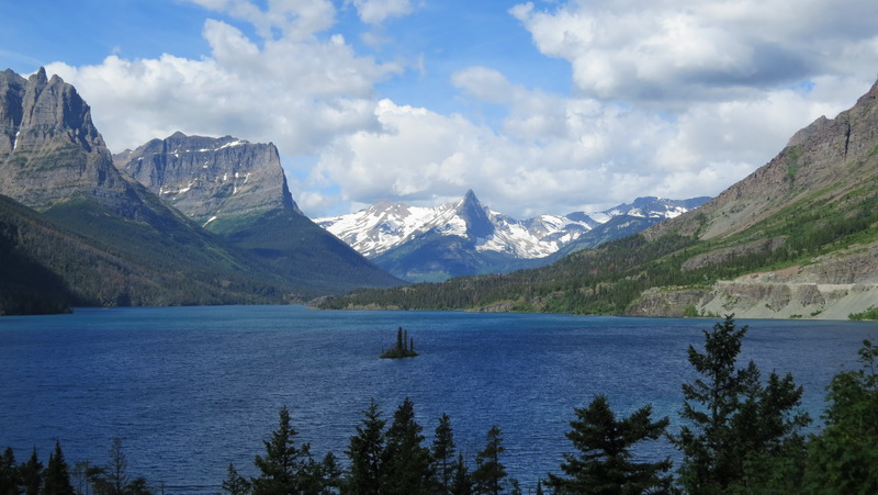 Glacier national park in its glory