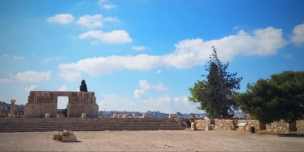 When you travel Jordan start in Amman