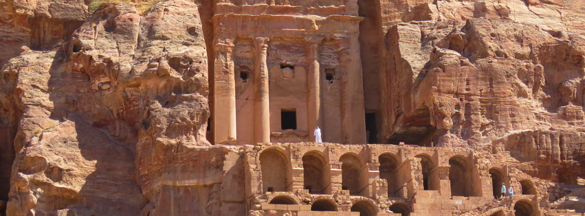 Exploring Inside Petra – Are Two or Four Legs Best?