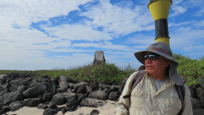 Hansel Martinetti, Galapagos Naturalist, helps preserve the wild beauty of the Galapagos Islands