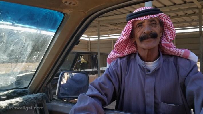 Bedouin Truck driver new places in Jordan