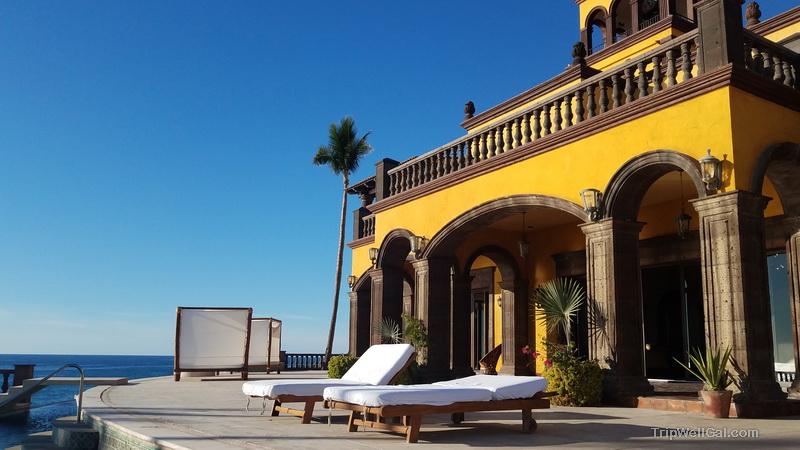 Poolside at Hacienda Cerritos perfect hideaway for a Cabo San Lucas Beach Vacation