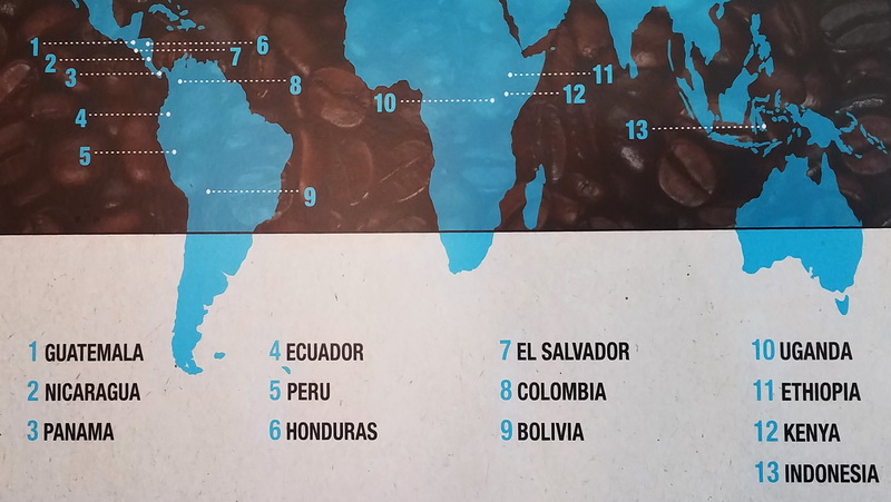 The Bean Belt crosses the Equator with some of the best coffee beans