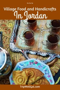 Best village food and handicrafts in Jordan Pin 1