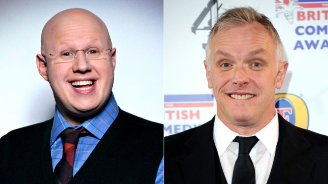 Doctor Who Christmas Special 2015 Matt Lucas and Greg Davies