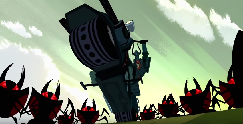 First Clip From Samurai Jack Season 5 Is Here