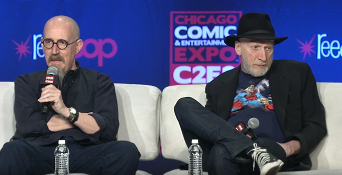 C2E2: Frank Miller and Brian Azzarello Talk The Dark Knight