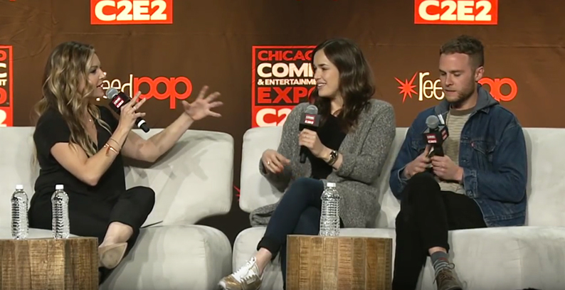 C2E2: Agents of S.H.I.E.L.D's Iain De Caestecker and Elizabeth Henstridge Speak
