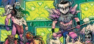 Dynamite's GWAR: Orgasmageddon Comic Previewed