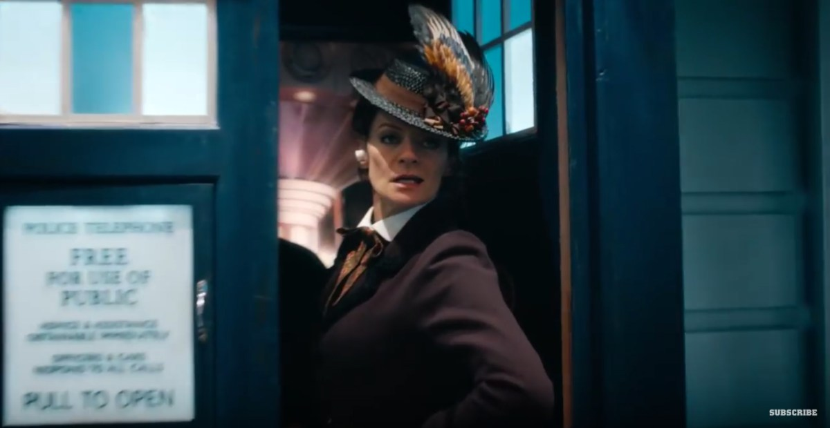 New Clip From Tonight's Doctor Who Materialises