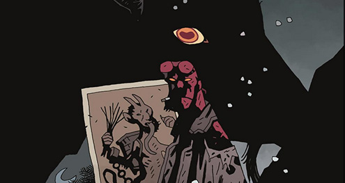 Previewing Mike Mignola and Adam Hughes' Hellboy: Krampusnacht