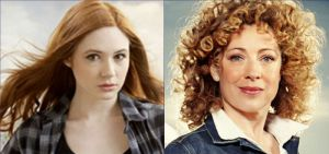 Doctor Who: Alex Kingston and Karen Gillan Talk at Dragon Con 2017