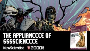 2000AD's The Dark Judges Take Over New Scientist