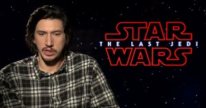 Adam Driver On Star Wars: The Last Jedi