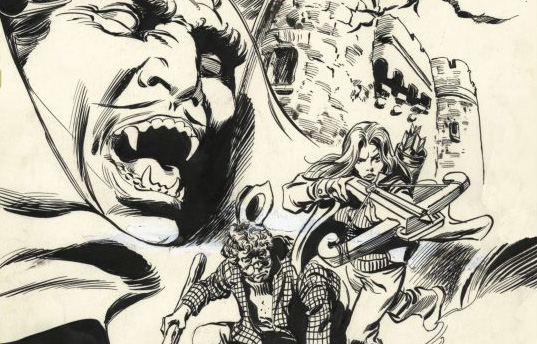 Previewing IDW's Gene Colan Tomb Of Dracula Artist's Edition