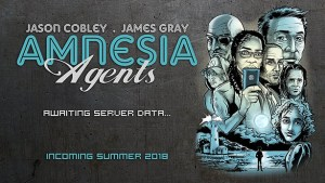 Support New Comic Kickstarter Amnesia Agents