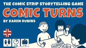 Karen Rubins Is Kickstarting Comic Turns Playable Card System