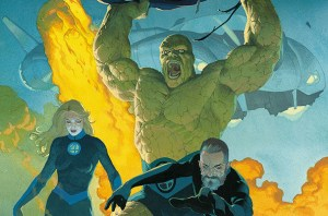 Marvel Reveals the Epic Issue #1 Cover For The Return Of The Fantastic Four