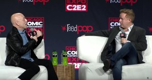 Brian Michael Bendis And Mark Millar At C2E2 Last Weekend