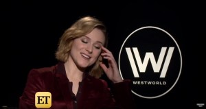 Evan Rachel Wood Talks Westworld Season 2
