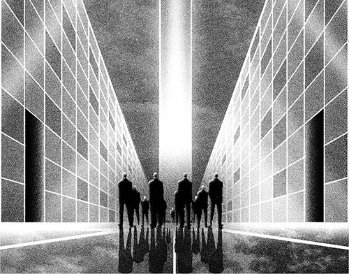Kit Russell Talks Creating Illustrations For Folio Society's Edition Of Seminal Sci-Fi Novel We By Yevgeny Zamyatin