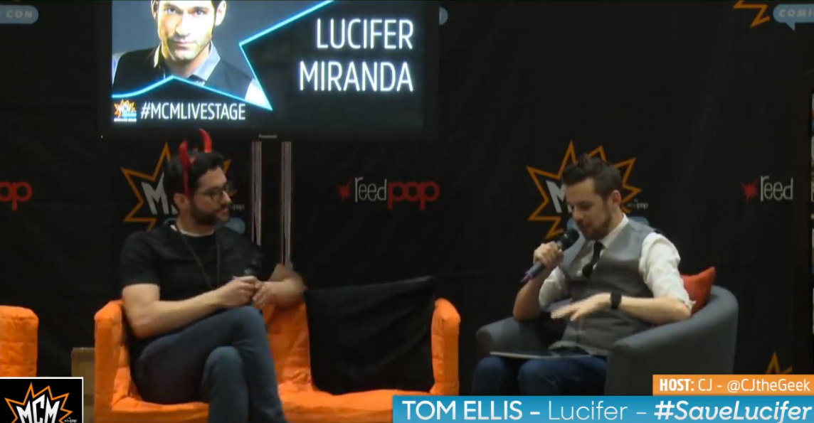 MCM London Comic Con: Tom Ellis On Lucifer