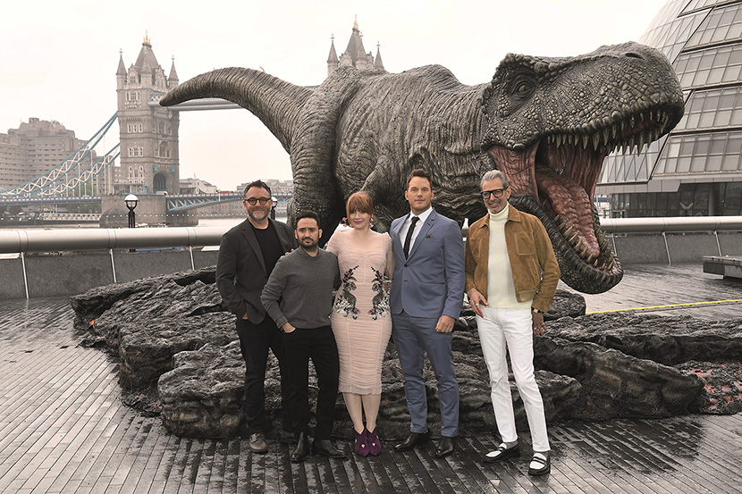 Jurassic World: Fallen Kingdom Comes To London