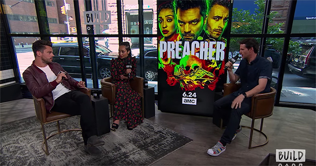 Dominic Cooper And Ruth Negga On Preacher Season Three