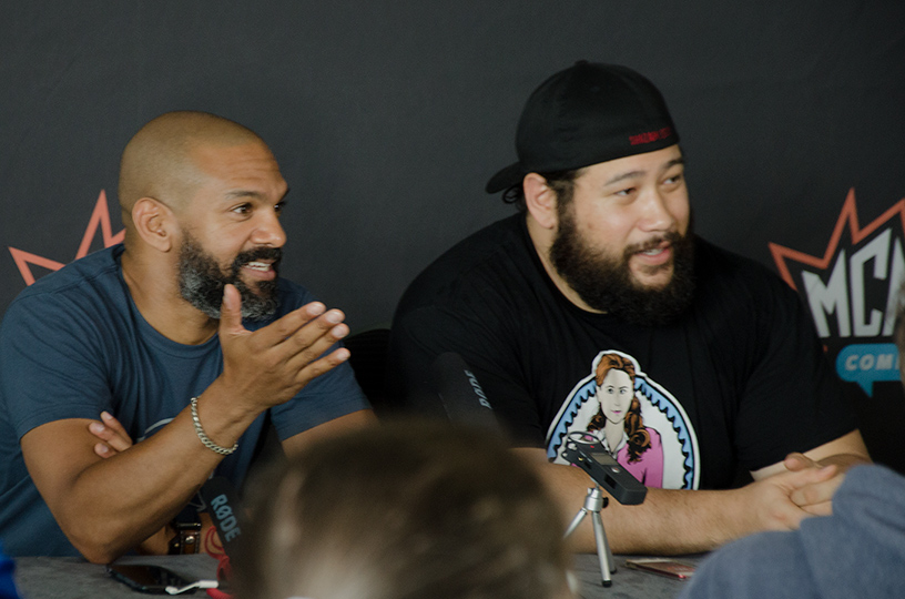 MCM: Khary Peyton And Cooper Andrews Talk The Walking Dead