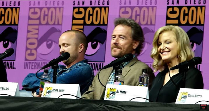 SDCC: Watch Full Breaking Bad Panel At Comic-Con