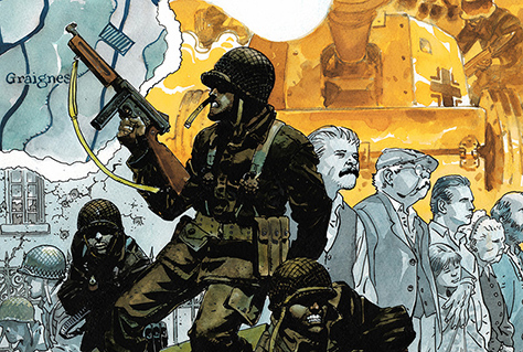 DC Vertigo Announces Original War Graphic Novel Six Days