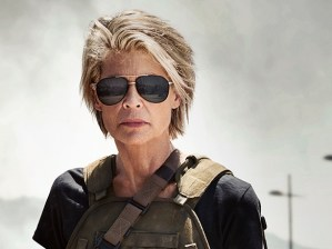 Official Photo of Linda Hamilton And Co In Terminator 6 Surfaces