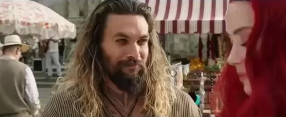 Watch New Aquaman TV Spot