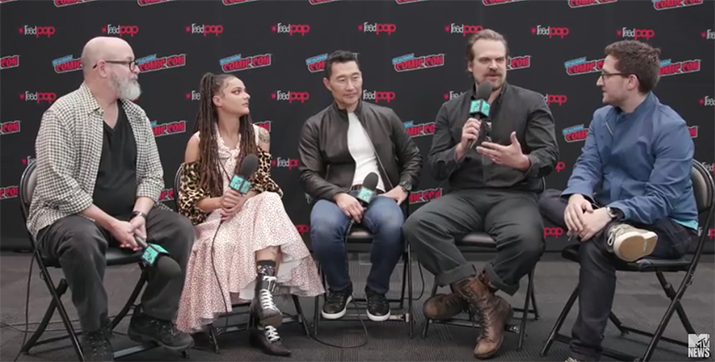 NYCC: The Cast And Crew Talk About Audience Expectations For The New Hellboy