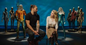 Amber Heard And Jason Momoa Talk Aquaman