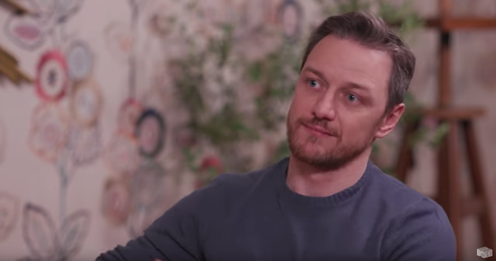 James McAvoy Talks Glass, X-Men And It 2