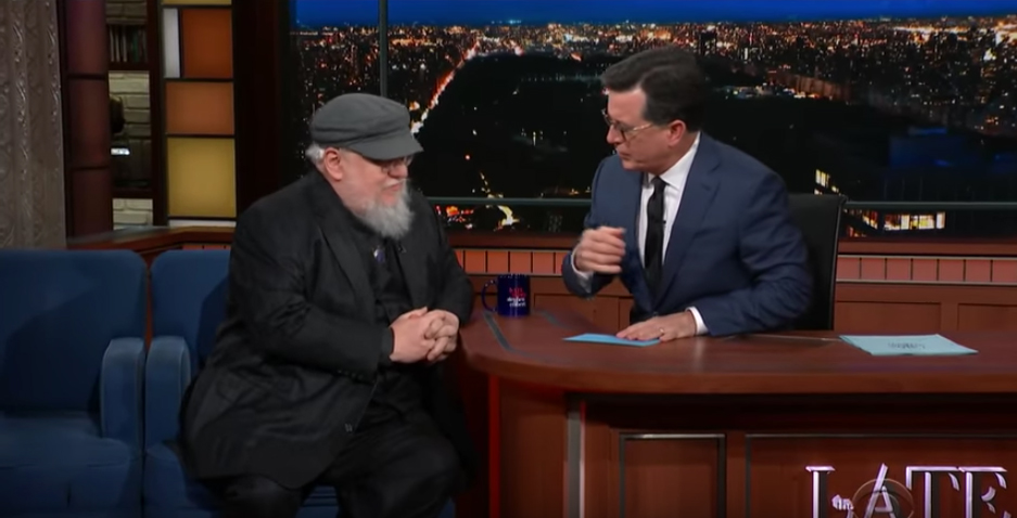 George RR Martin Talks About His Earliest Inspiration