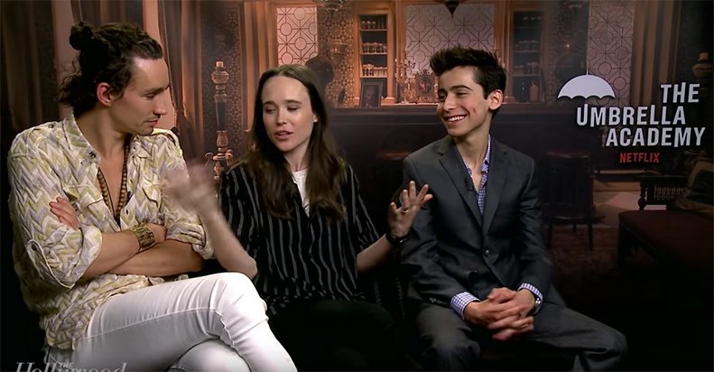 The Cast And Co-Creator Of Umbrella Academy Talk