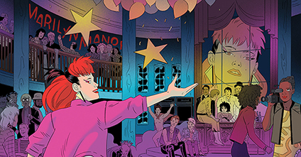 Follow the First Daughter's Post-Punk Exploits in IDW's Marilyn Manor