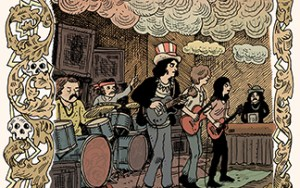 Grateful Dead Partners With Z2 Comics To Release Grateful Dead Origins In 2020